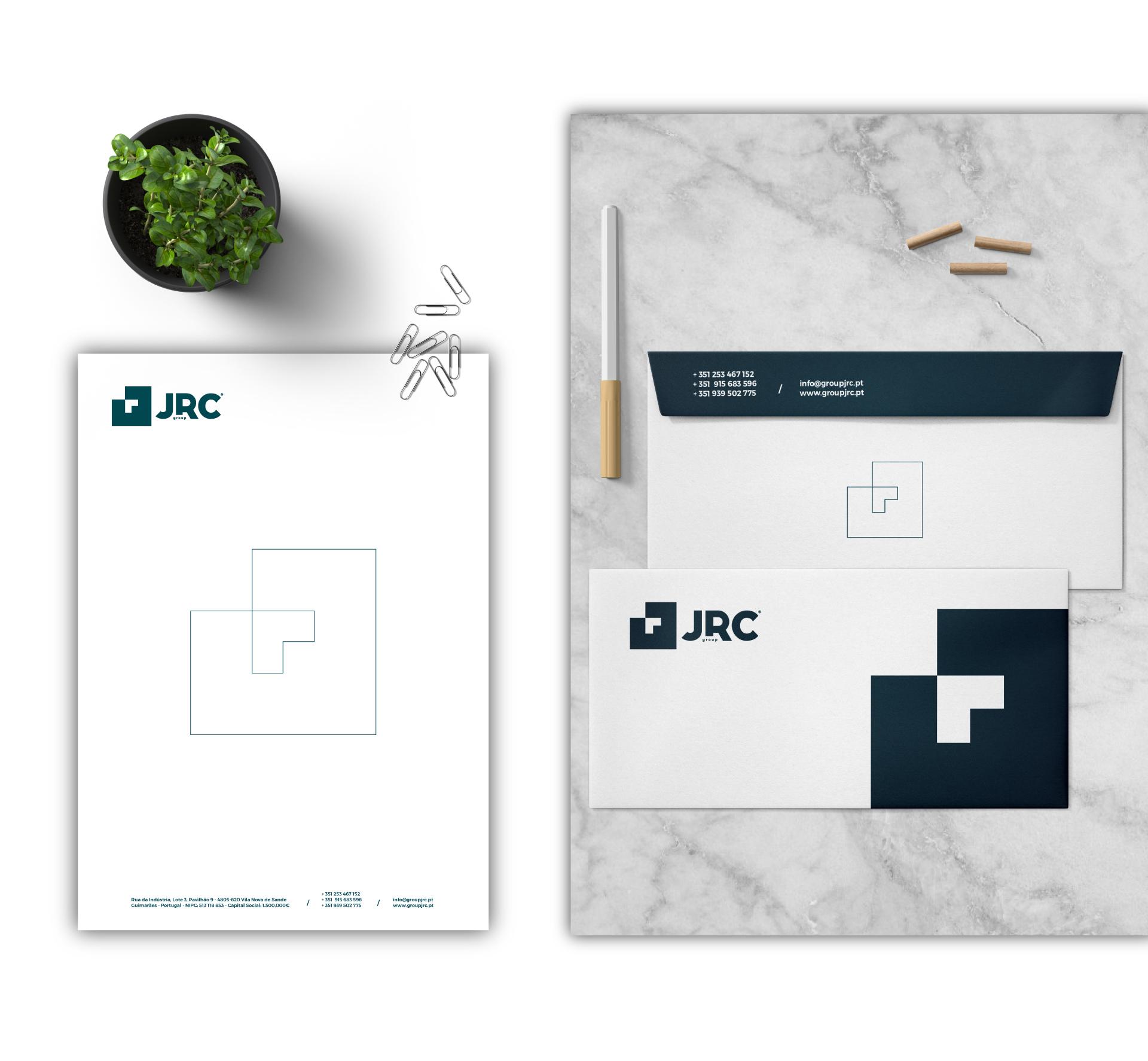 Group JRC branding