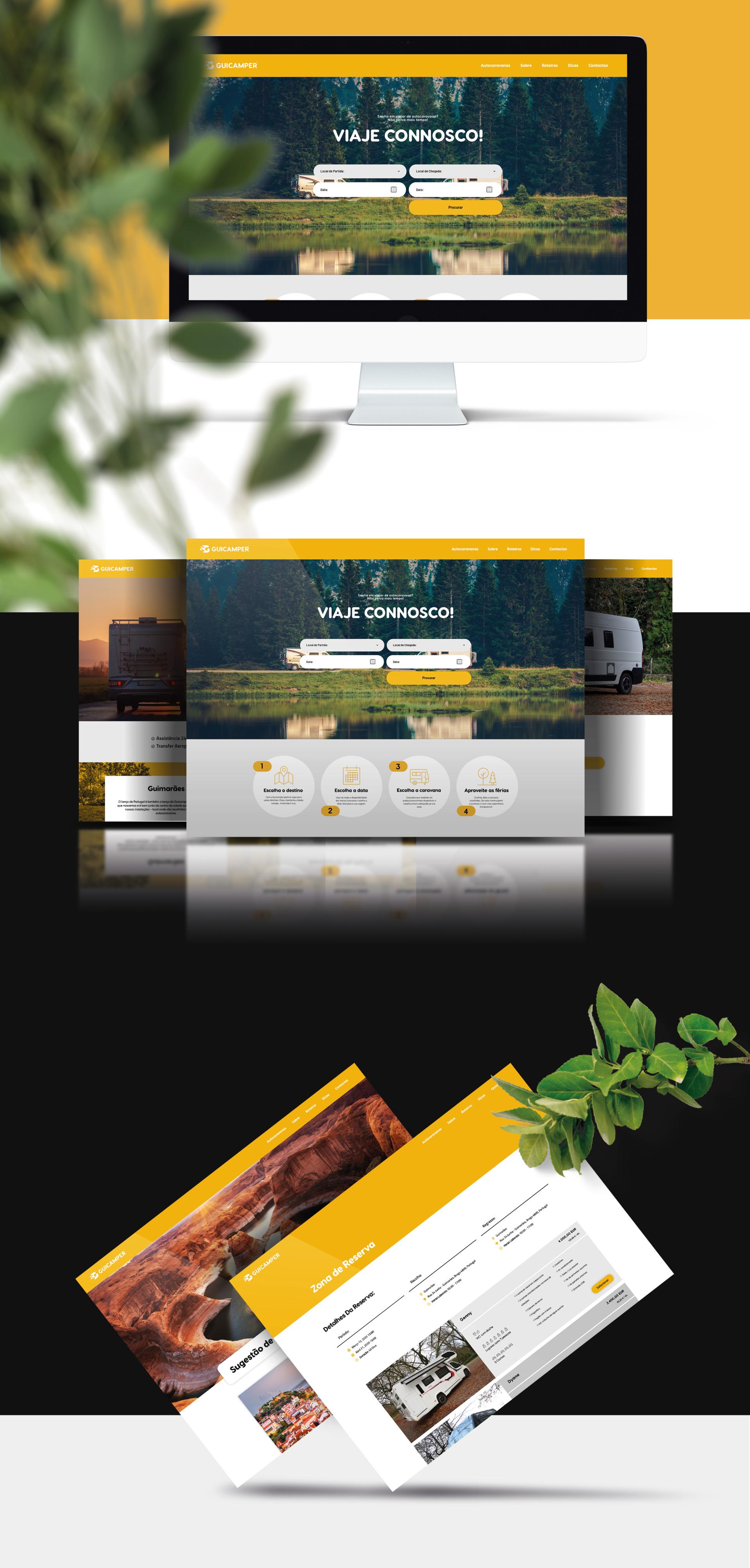 Guicamper website