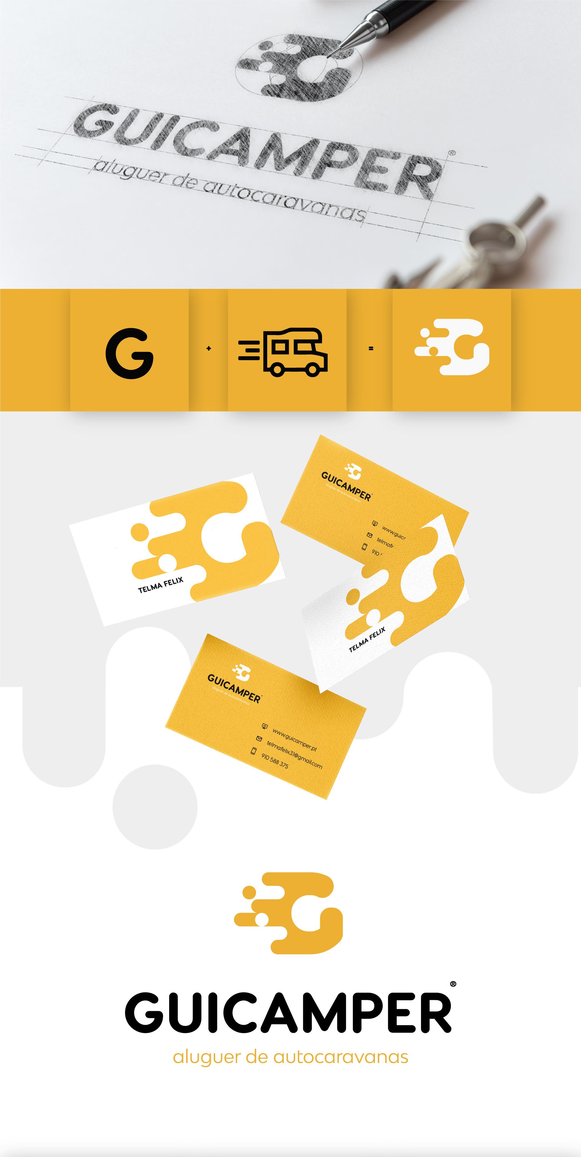 Guicamper branding